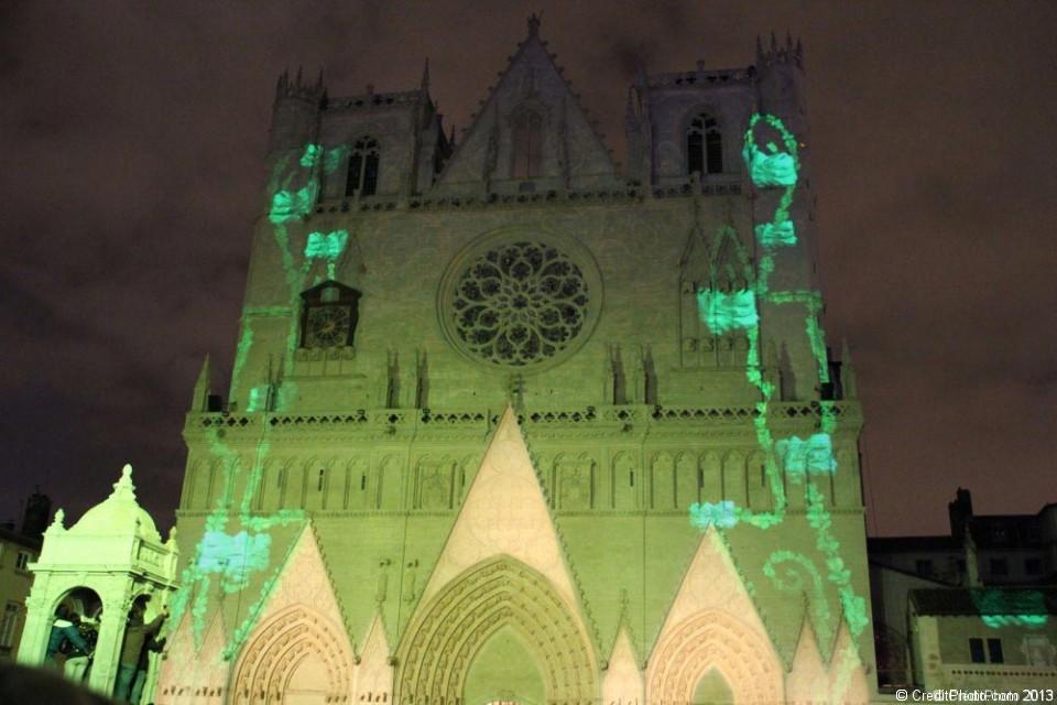 Cathédrale Saint Jean Baptiste en vert