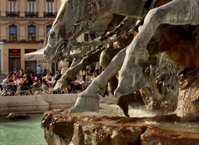 Fontaine Bartholdi, Place des Terreaux