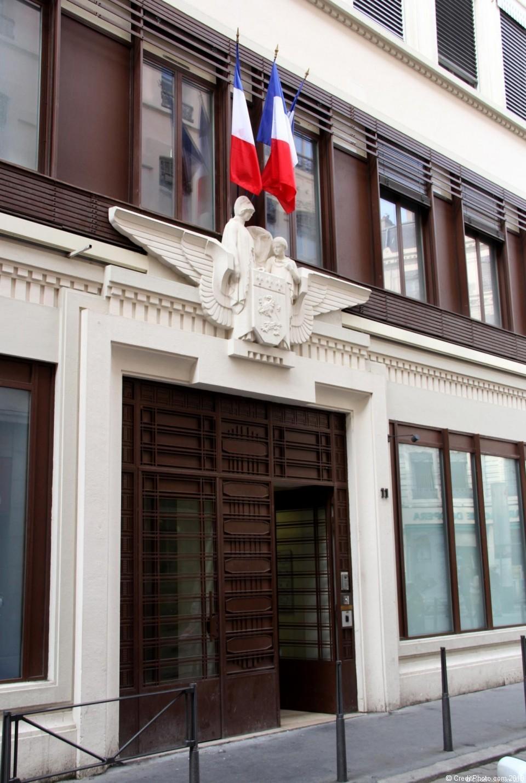 11 rue Pizay, bâtiment de la ville de Lyon