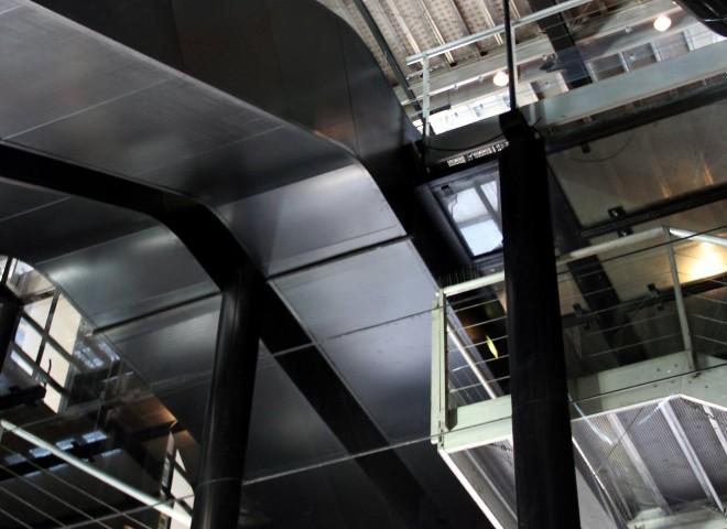 Plafond architectural de l'Opéra de lyon