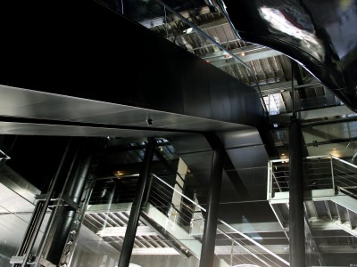 Plafond architectural de l'Opéra