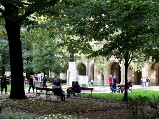 Parc du Cloître du Musée des Beaux-Arts