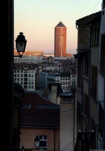 photo de la tour part dieu