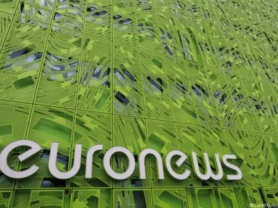 Euronews, le cube vert de La Confluence
