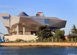 Musée des Confluences, flanc Ouest