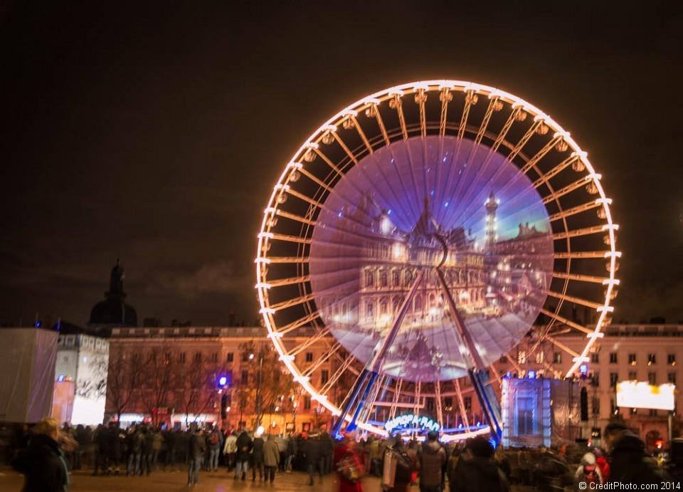 Rêves de Nuit, Place Bellecour