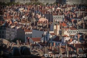 toits et cheminées de Lyon