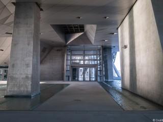 Alliance de gris bleue au Musée des Confluences