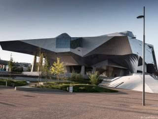 Le Musée des Confluences, façade Sud