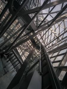 Intérieurs du musée des confluences Lyon