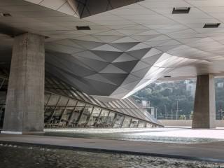 Les dessous du Musée des Confluences