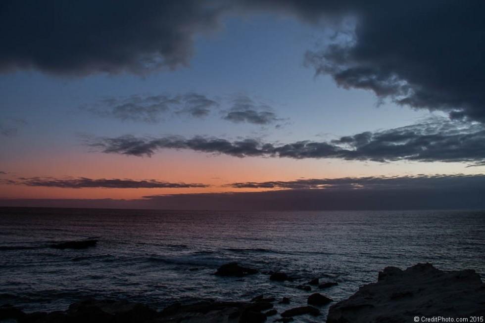 Nouvelles photos de ciels portugais au crépuscule sur le site nature