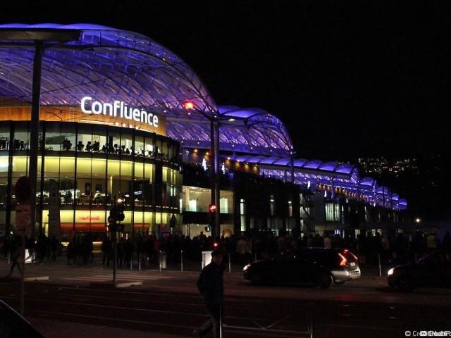 Centre commercial Lyon Confluence