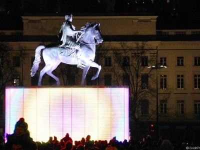 Magic Cube, place Bellecour