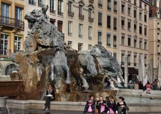 La fontaine Bartholdi, Place des Terreaux
