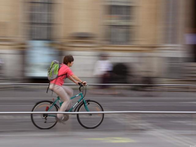 Vélo qui file