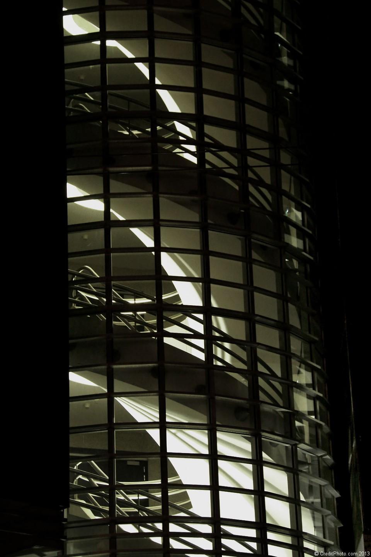Escalier extérieur Société Générale