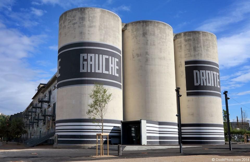 Les silos de la sucrière du Port Rambaud