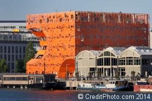 cube orange lyon confluence