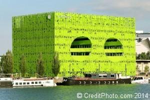 photo euronews cube vert confluence
