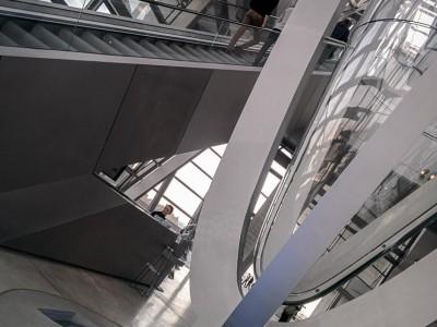 Les intérieurs du Musée des confluences Lyon