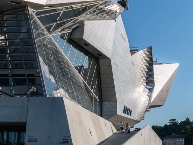 Musée des Confluences Lyon, façade Ouest