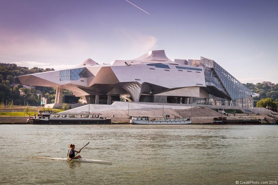 Musée des Confluences Lyon, rive gauche