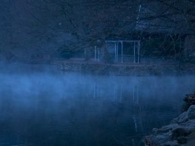 Brumes et brouillards sur le Parc Tête d'or