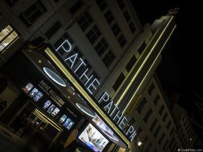 Cinéma Le Pathé Bellecour, photo de nuit