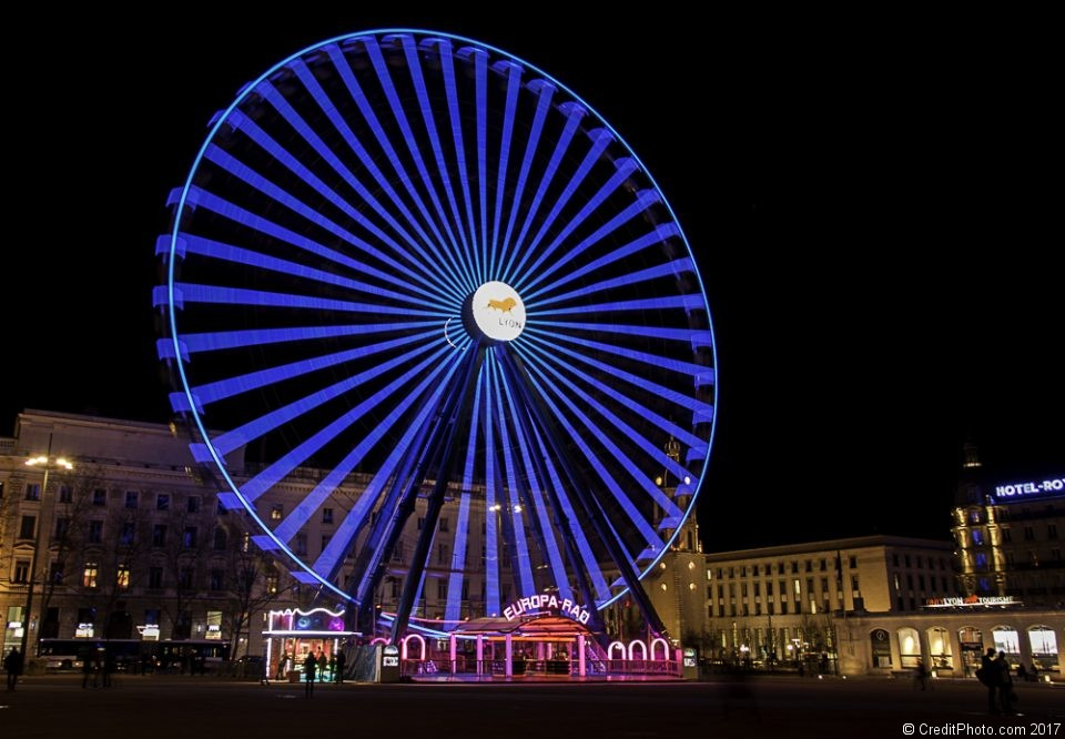 Grande roue de la Place Bellecour